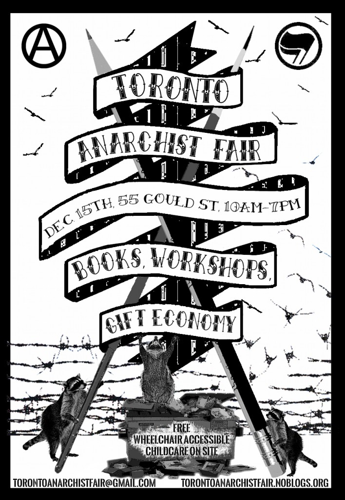 Toronto Anarchist Fair 2013